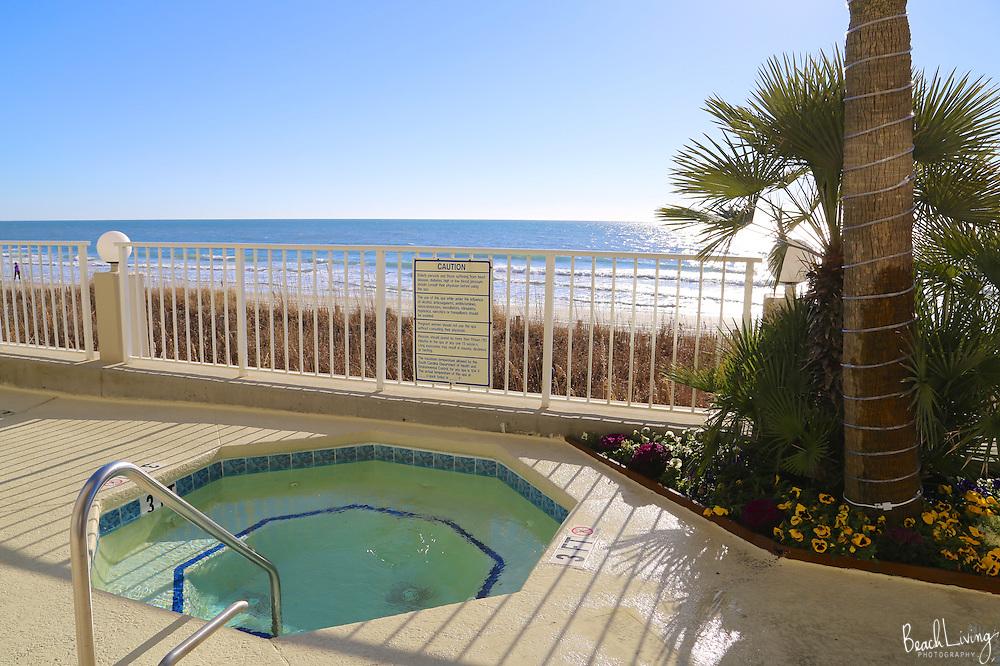 Garden City beach oceanfront condo for rent