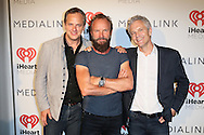 CAP D'ANTIBES, FRANCE - JUNE 23:  Tom Poleman, Sting and John Sykes attend a dinner party hosted by iHeartMedia and Medialink at Hotel du Cap-Eden-Roc in Antibes, France during the Cannes Lions Festival, featuring a special performance by Sting.  (Photo by Tony Barson/Getty Images for iHeartMedia)