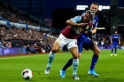 Douglas Luiz of Aston Villa takes on Gylfi Sigurdsson of Everton - Mandatory by-line: Robbie Stephenson/JMP - 23/08/2019 - FOOTBALL - Villa Park - Birmingham, England - Aston Villa v Everton - Premier League
