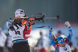 Felix Leitner (AUT) during the Men 20 km Individual Competition at day 1 of IBU Biathlon World Cup 2019/20 Pokljuka, on January 23, 2020 in Rudno polje, Pokljuka, Pokljuka, Slovenia. Photo by Peter Podobnik / Sportida