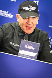 25.10.2014, Red Bull Ring, Spielberg, AUT, Red Bull Air Race, im Bild Pressekonferenz, Nigel Lamp, (GBR) // during the Red Bull Air Race Championships 2014 at the Red Bull Ring in Spielberg, Austria, 2014/10/25, EXPA Pictures © 2014, PhotoCredit: EXPA/ M.Kuhnke