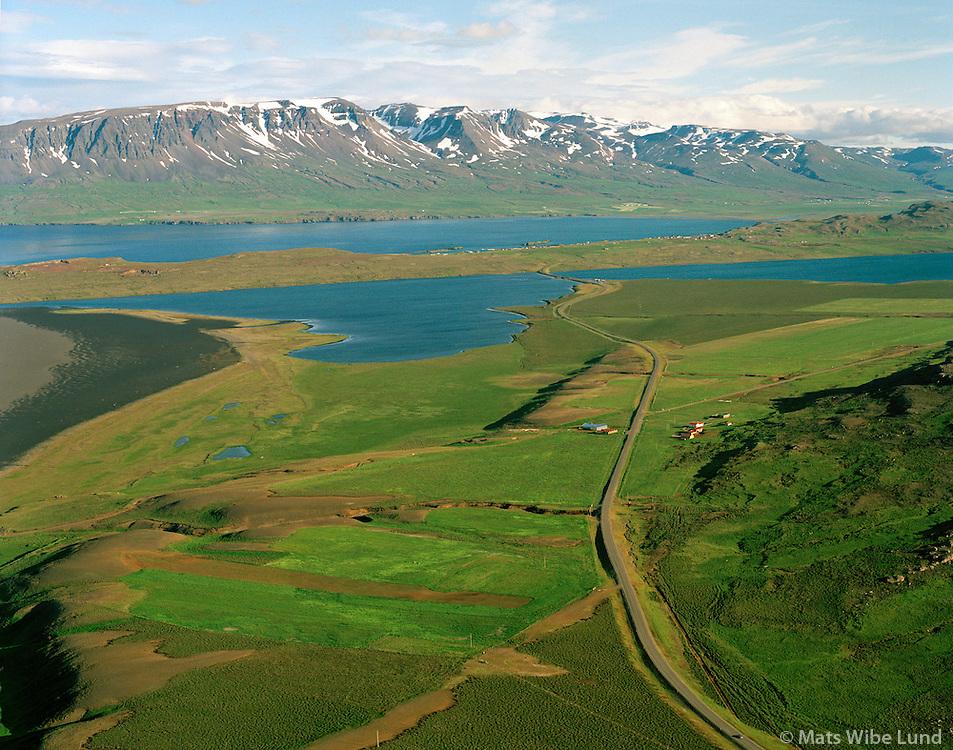 Ytri-Nýpur séð til suðurs, Vopnafjarðarhreppur / Ytri-Nypur viewing south, Vopnafjardarhreppur.