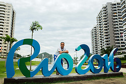 Marko Pangerc of Radio Slovenija posing in the Paralympic Village 1 day ahead of the Rio 2016 Summer Paralympics Games on September 6, 2016 in Rio de Janeiro, Brazil. Photo by Vid Ponikvar / Sportida