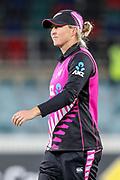 Sophie Devine. Women's T20 international Cricket, Australia v New Zealand White Ferns.  Manuka Oval, Canberra, 5 October 2018. Copyright Image: David Neilson / www.photosport.nz