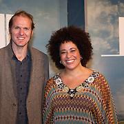NLD/Utrecht/20150921 - Film premiere 'Holland – Natuur in de Delta', Tania Kross en partner Tuur Florizoone