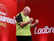 Michael Van Gerwen during the 2018 Players Championship Finals at Butlins Minehead, Minehead, United Kingdom on 25 November 2018.