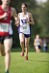 Jack Sheffar of the Western Mustangs  (312) competes in the men's 8k  at the 2015 Western International Cross country meet in London Ontario, Saturday,  September 26, 2015.<br /> Mundo Sport Images/ Geoff Robins