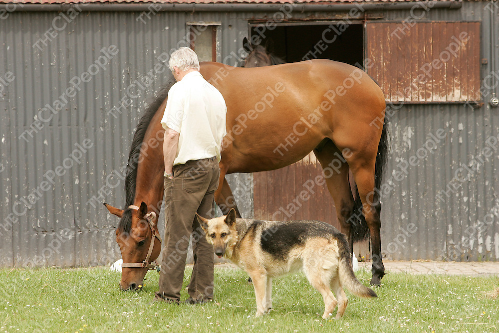 DESSIE HUGHES' SUN 3 JULY 05  PIC: CAROLINE NORRIS<br />