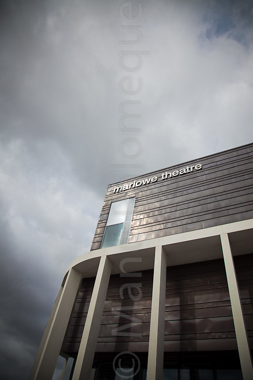 © London News Pictures. 08/09/11. On the 4th of October 2011 the curtain will rise on the Marlowe Theatre a spectacular new landmark theatre for Canterbury and the South East. Building started on the £25.6m project in May 2009. Picture credit should read Manu Palomeque/LNP