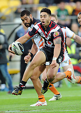 Wellington-Rugby League, NRL, Warriors v West Tigers