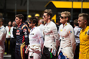 April 15-17, 2016: Chinese Grand Prix, Shanghai, Nico Hulkenberg (GER), Force India and other F1 drivers
