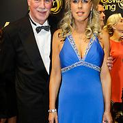 NLD/Amsterdam/20121019- Televiziergala 2012, Marga Bult en partner Jan van Ingen