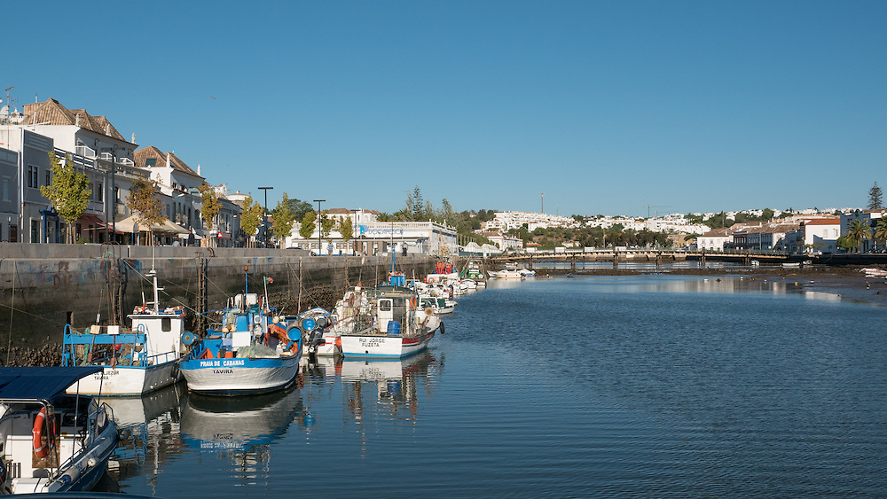 Tavira Island lies south of the town of Tavira, Portugal, just a few hundred metres off the coast. It is 11 kilometres long and varies between 150 m to 1 km in width.
