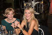 LISA DOROSZKOWSKA; MEL NASH, Action Against Cancer 'A Voyage of Discovery' fundraising dinner at the Science Museum on Wednesday 14 October 2015.
