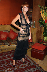 Actress PATSY PALMER at a dinner hosted by Ayesha Makim and leading stylist Mohieb Dahabieh to celebrate the forthcoming London Fashion Week held at the exotic restaurant Levant, 76 Wigmore Street, London W1 on 8th September 2005.<br /><br />NON EXCLUSIVE - WORLD RIGHTS