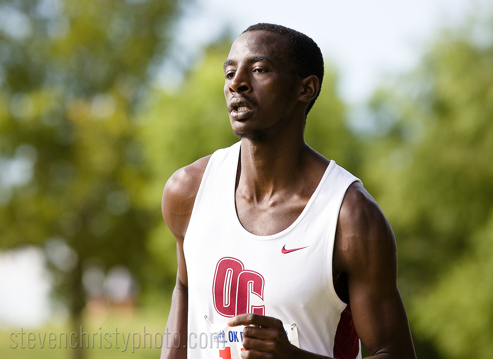 September 24, 2011: The Oklahoma Christian University Eagles men's cross country team participates in the OCU Fall Classic at the Oklahoma Publishing Company in Oklahoma City, OK.