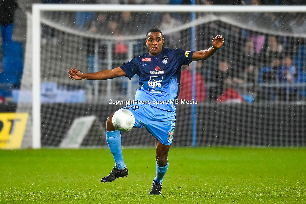 Steven FORTES  - 12.12.2014 - Le Havre / Laval - 17eme journee de Ligue 2 <br /> Photo : Fred Porcu / Icon Sport