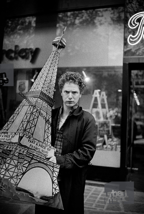 Malcolm McLaren in Paris - 1980
