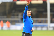 Nathaniel Mendez-Laing during the Sky Bet League 1 match between Peterborough United and Rochdale at London Road, Peterborough, England on 9 April 2016. Photo by Daniel Youngs.