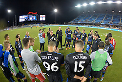 August 29, 2018 - San Jose, California, United States - San Jose, CA - Wednesday August 29, 2018: San Jose Earthquakes  during a Major League Soccer (MLS) match between the San Jose Earthquakes and FC Dallas at Avaya Stadium. (Credit Image: © John Todd/ISIPhotos via ZUMA Wire)