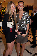 MARQUESSA LUCAS-BOX; LAVINIA BRENNAN, The London Bar and Club awards. Intercontinental Hotel. Park Lane, London. 6 June 2011. <br /> <br />  , -DO NOT ARCHIVE-© Copyright Photograph by Dafydd Jones. 248 Clapham Rd. London SW9 0PZ. Tel 0207 820 0771. www.dafjones.com.