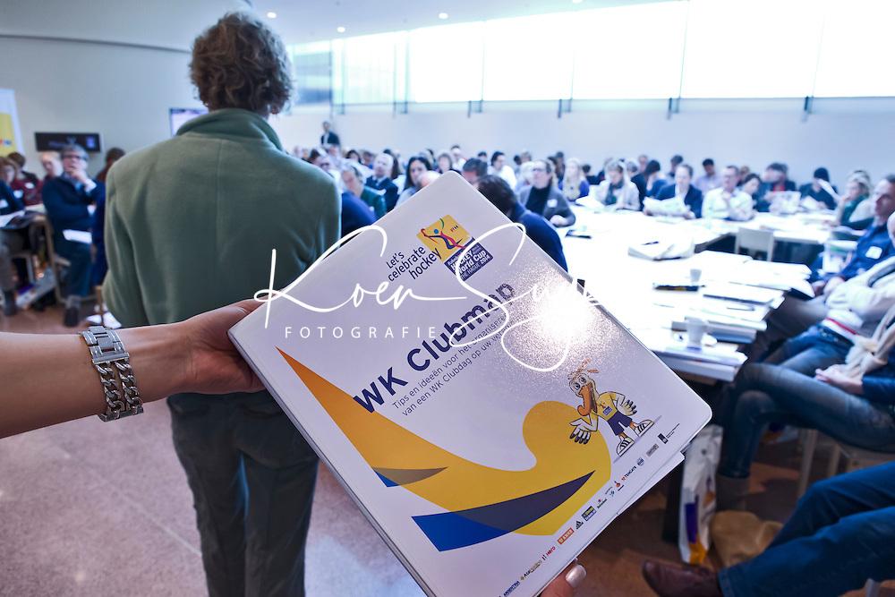 UTRECHT - WK Clubmap . Hockeycongres bij de Rabobank in Utrecht. FOTO KOEN SUYK