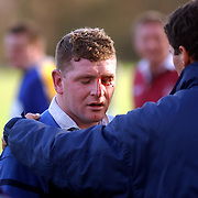 Rugby 't Gooi - Haagse RC, verwonding, gescheurde wenkbrauw, bloed, verzorging,