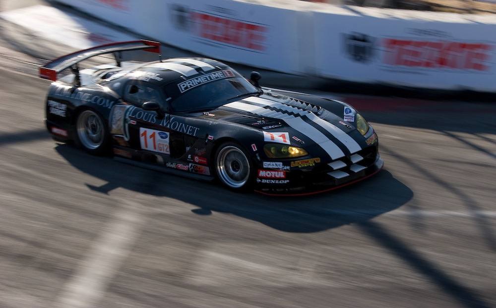 Driven by Joel Feinberg and Chris Hall for Primetime Raqce Group. Finished 14th, 7th in Gt2 class ALMS Long Beach 4/24/09