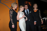 Christina Jesaitis, Kathryn Parsons, winner of the New Generation award and International Director at Veuve Clicquot Laurent Boidevezi , The Veuve Clicquot Business Woman Of The Year Award, celebrating women's excellence in business and commitment to sustainability. Claridge's, Brook Street, London, 22 April 2013