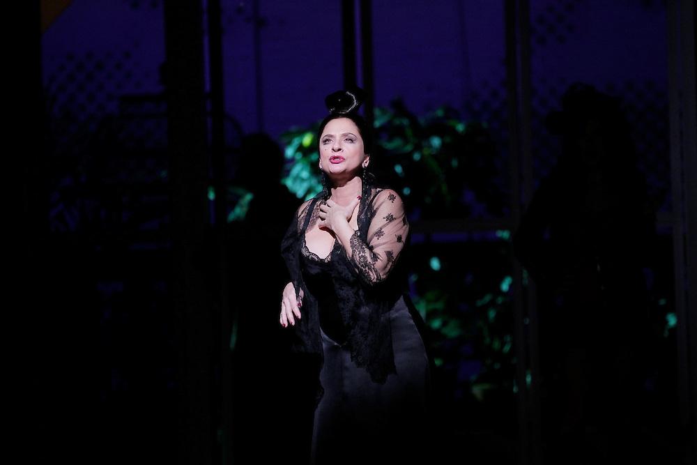 """WOMEN ON THE VERGE OF A NERVOUS BREAKDOWN"".Lincoln Center Theater Production.Credit photo: ©Paul Kolnik.paul@paulkolnik.com.nyc  212-362-7778"