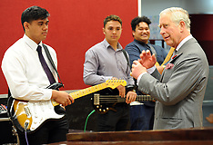 Wellington-Royals, Prince Charles visits Tawa College