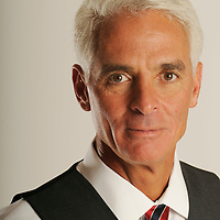 June 11, 2008; Tallahassee, FL USA<br /> <br /> Florida Governor Charlie Crist<br /> <br /> <br /> Photo by Preston Mack / Redux