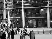 Offices opposite Cannon St. station. London. 3 january 2017