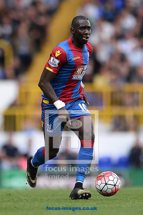 Yannick Bolasie of Crystal Palace during the Barclays Premier League match between Tottenham Hotspur and Crystal Palace at White Hart Lane, London<br /> Picture by Richard Blaxall/Focus Images Ltd +44 7853 364624<br /> 20/09/2015