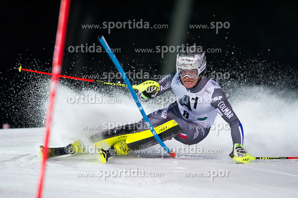 Julien Lizeroux (FRA) during the 7th Mens' Slalom of Audi FIS Ski World Cup 2016/17, on January 24, 2017 at the Planai in Schladming, Austria. Photo by Martin Metelko / Sportida