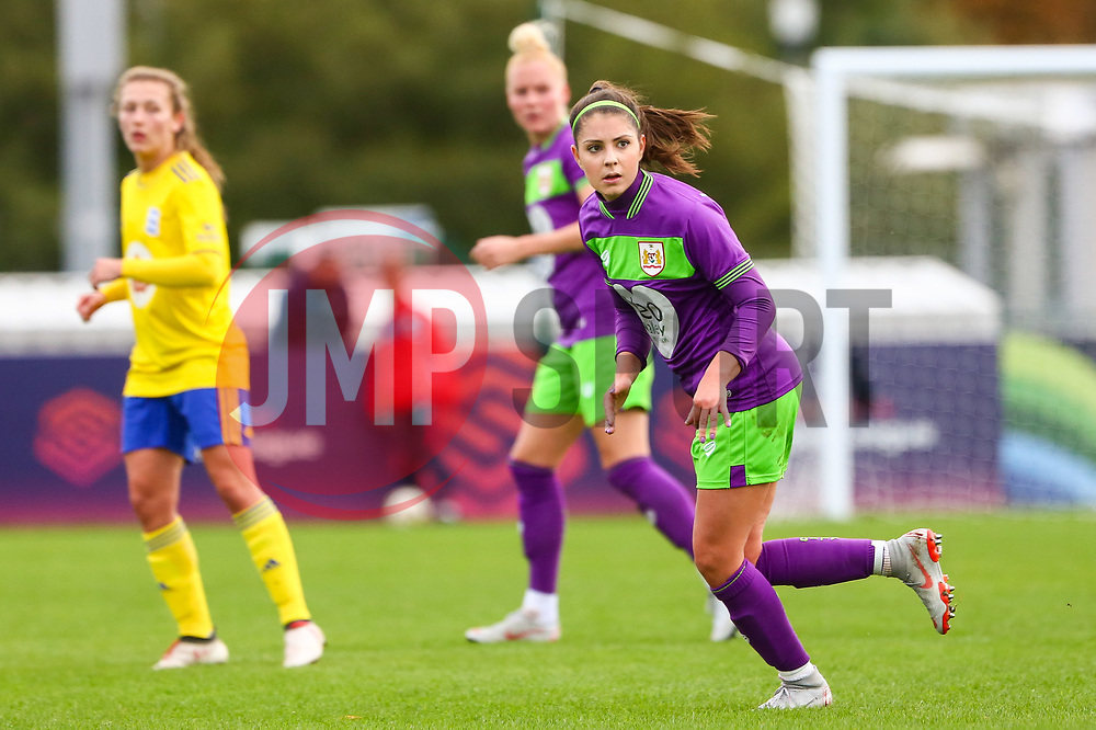 Carla Humphrey of Bristol City - Mandatory by-line: Ryan Hiscott/JMP - 14/10/2018 - FOOTBALL - Stoke Gifford Stadium - Bristol, England - Bristol City Women v Birmingham City Women - FA Women's Super League 1