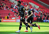 Football - 2020 / 2021 EFL Division One - Charlton Athletic vs Doncaster Rovers<br /> <br /> Tyreece John - Jules of Doncaster celebrates scoring goal no 3, at the Valley<br /> <br /> COLORSPORT/ANDREW COWIE
