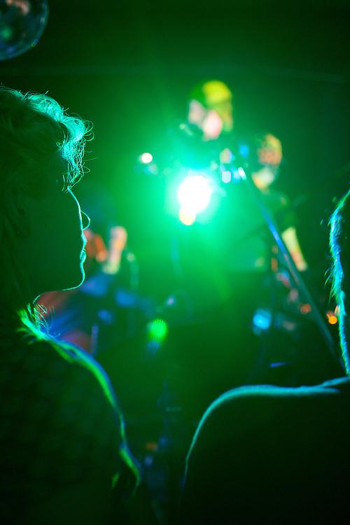 Watching Dan Deacon, Hopscotch Music Festival, Raleigh, N.C., Friday, September 7, 2012