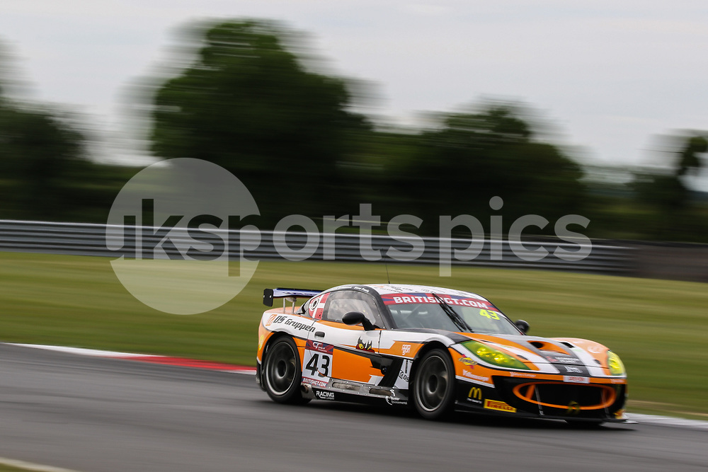 Century Motorsport Ginetta G55 GT4 with drivers Steve Fresle & Jacob Mathiassen during the British GT And BRDC British F3 Championships at the Snetterton Circuit, Norwich, England on 28 May 2017. Photo by Jurek Biegus.