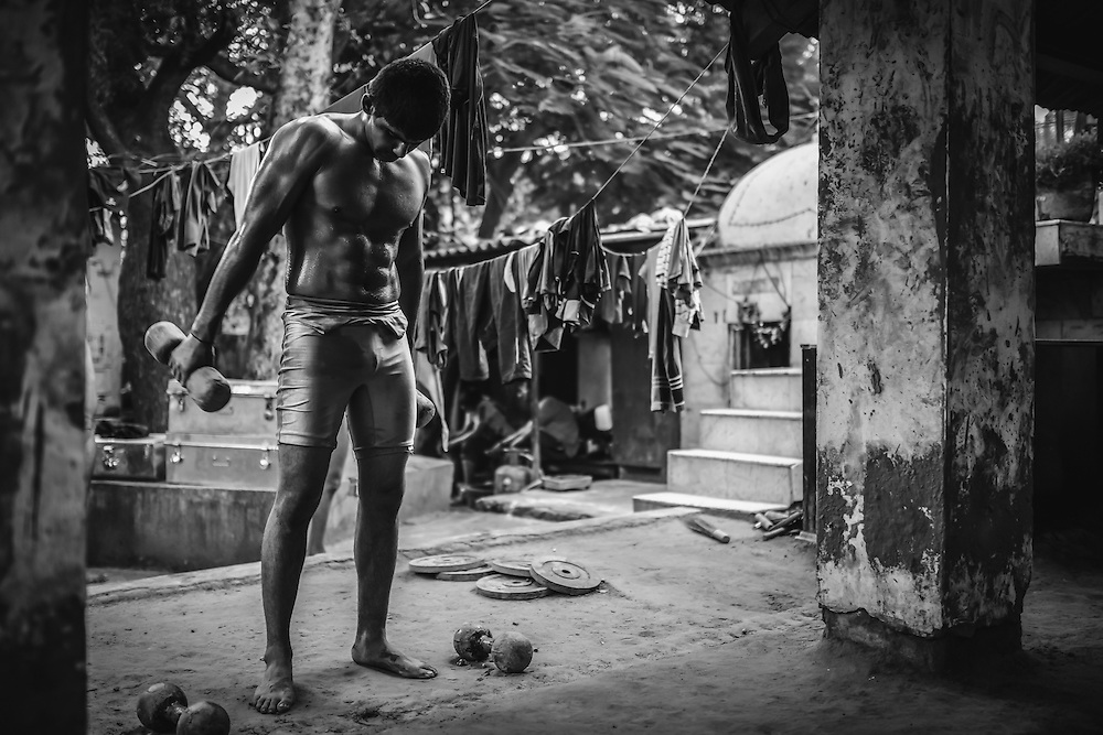 Kushti Wrestlers of Hanuman, Old Delhi | 2013