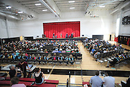 The Plumstead Christian School's 36th Annual Commencement Saturday, June 11, 2016 at Plumstead Christian School in Plumstead, Pennsylvania. 39 seniors graduated from the school this year. (Photo by William Thomas Cain)