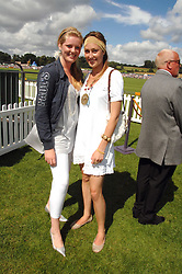 Left to right, HANNAH CLARKE and LADY TATIANA MOUNTBATTEN at the final of the Veuve Clicquot Gold Cup 2007 at Cowdray Park, West Sussex on 22nd July 2007.<br />