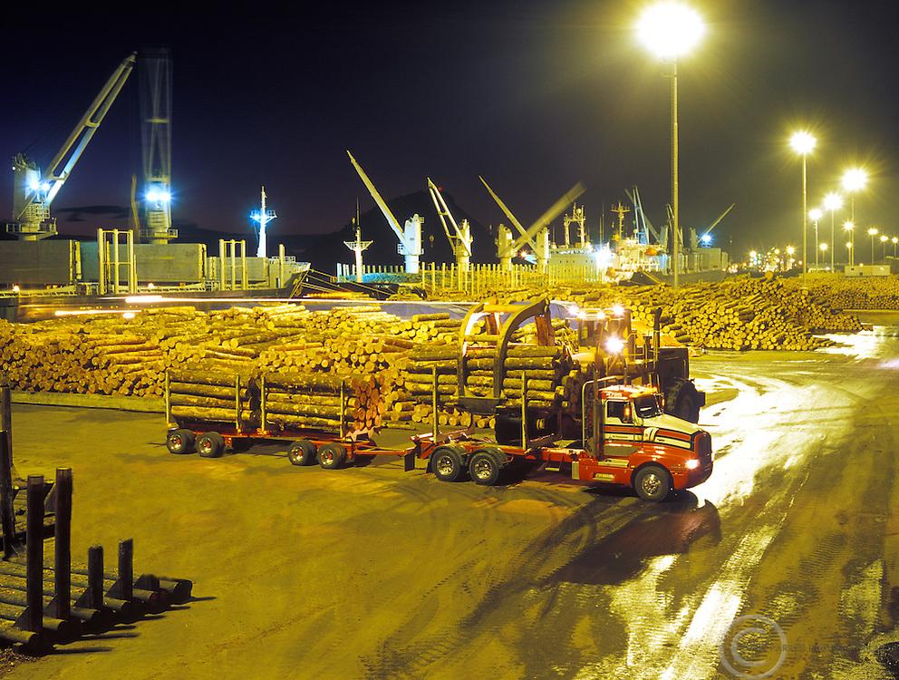 Timber, logs