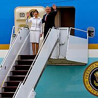 George Bush visit to Budapest