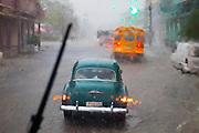 Downpour, Havana, Cuba