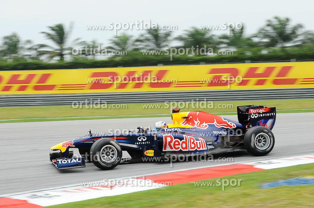 DHL Branding - Sebastian Vettel (GER), Red Bull Racing    EXPA Pictures © 2011, PhotoCredit: EXPA/ nph/  Dieter Mathis (bitte als Fotovermerk angeben)       ****** only for AUT & SLO ******
