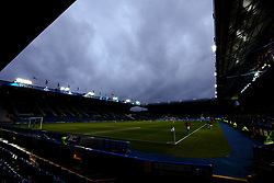 Dark Clouds form over Hillsborough - Mandatory by-line: Robbie Stephenson/JMP - 08/08/2017 - FOOTBALL - Hillsborough - Sheffield, England - Sheffield Wednesday v Chesterfield - Carabao Cup