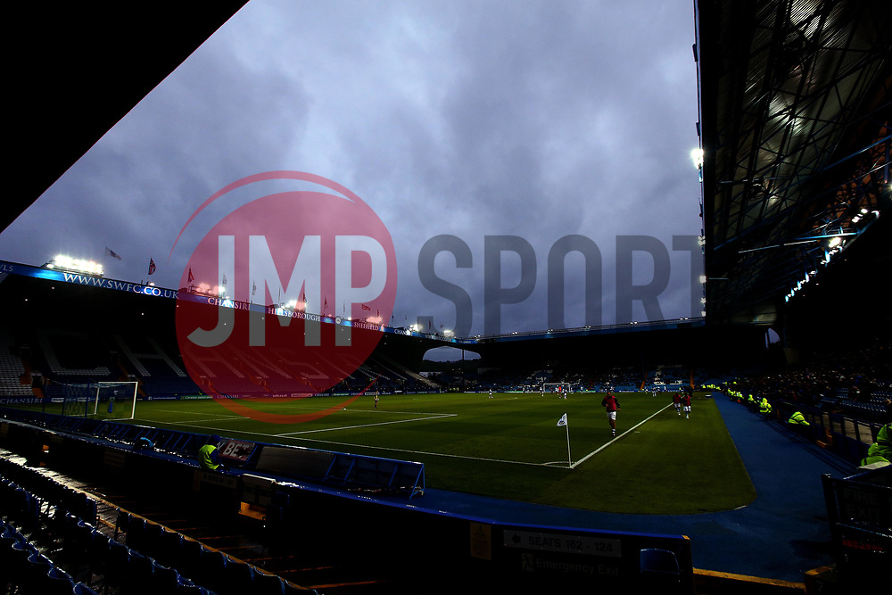 Dark Clouds form over Hillsborough - Mandatory by-line: Robbie Stephenson/JMP - 08/08/2017 - FOOTBALL - Hillsborough - Sheffield, England - Sheffield Wednesday v Chesterfield - Carabao Cup