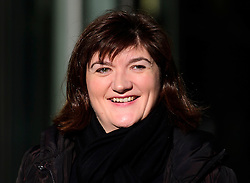 © Licensed to London News Pictures. 22/01/2017. London, UK. Former education secretary Nicky Morgan MP, arrives BBC Broadcasting House in London. Photo credit: Ben Cawthra/LNP