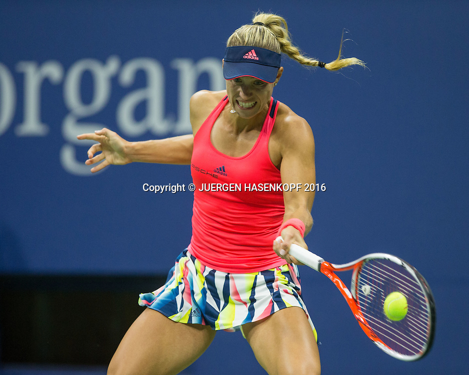 ANGELIQUE KERBER (GER)<br /> <br /> Tennis - US Open 2016 - Grand Slam ITF / ATP / WTA -  USTA Billie Jean King National Tennis Center - New York - New York - USA  - 4 September 2016.